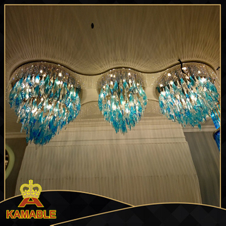 Luxury Lobby Custom-made glass Chandelier(KA0515)