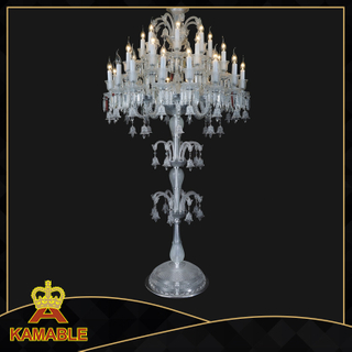 Luxury Hotel Decoration Crystal Floor Lamp (ML9830-16-8+8)