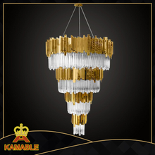 Luxury decoration crystal modern hotel chandelier(KA1623-625)