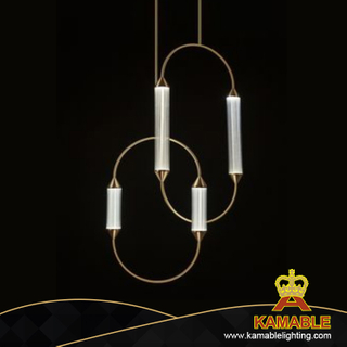 Modern Bronze Fosted Glass Hanging Pendant Light (KAP8198)