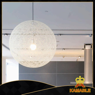 Hemp rope decorative modern hotel pendant lamps (1027S-800 )