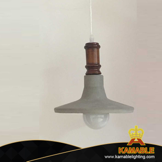 Contemporary cement pendant lamp for home (PC3010 )