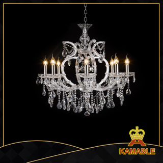 Clear color home decorative Crystal chandelier(MD28085 8+1L)