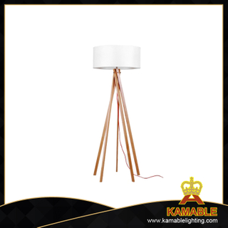 Modern simple decorative wooden floor lighting(LBMD-MG)
