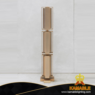 Golden Metal Hotel Decorative Floor Lamp (KPL1808)