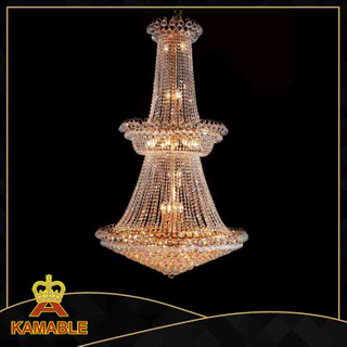 Hotel luxury crystal decorative church chandelier (8018-L45)