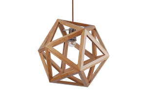 Modern simple style indoor wood pendant lighting(LBMP-SX)