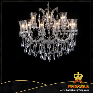 Elegant design hotel lobby Maria Theresa chandeliers(2054-18L )