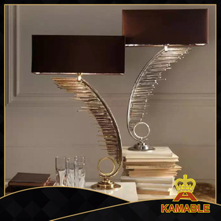 Stainless Steel Fashion Indoor Lighting Modern Table Lamp(KT061117)