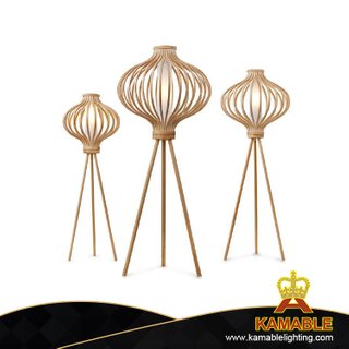 Home Decorative Wood Standing Floor Lamp (ML80160-1-600)