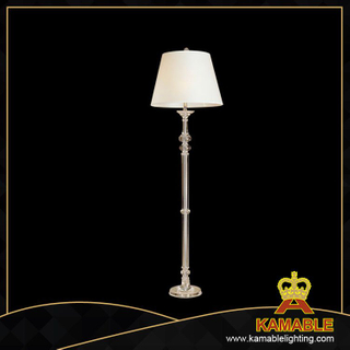 High Class Crystal and Fabric Lampshade Floor Lamp (FL21211)