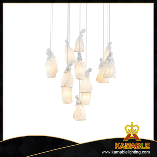 Fancy style indoor decorative cermet metal pendant lamp(MD70090)
