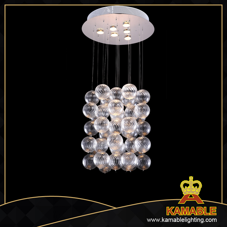 Decorative modern fashion clear glass pendant lamp (MD4150C-CL )