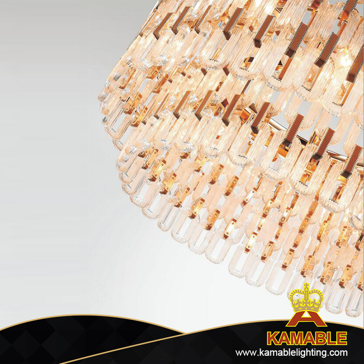 Decorative Crystal Leather Pendant Lighting (KAG8626-D650)