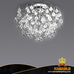 Luxury Design Indoor Dining Room Crystal Ceiling Lamp (8581)
