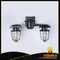 Aluminium and steel Metropolitan Railway Double Sconce wall lamp(KM0177W-2(chrome))