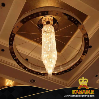 Hotel Big Crystal Chandelier Decoration Lighting (KAJ18002)