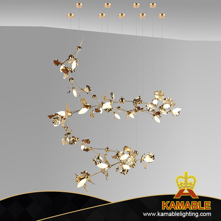 Modern Metal Hanging Pendant Lighting Fixtures (KAG8648-1500)