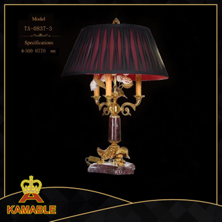 European Ceramic Table Lamps for Office Living Bedroom Bedside Lighting(TA-0837-1)