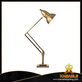 Industrial hotel project brass table lamp (CT1179-1VBN)