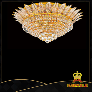 Excellent design hotel lobby crystal ceiling light(Yhc2214 L14)