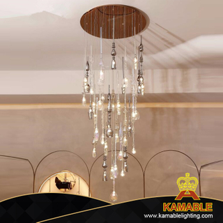 Hotel Project Decorative Modern Glass Pendant Lamp (KAMD1301A-33)
