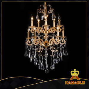Delicate indoor decorative cast aluminum chandelier(cos9084 )