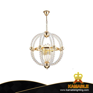 Modern Hanging Glass Bead Pendant Light(KAUR820)