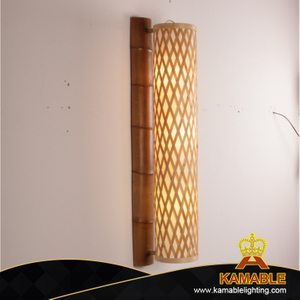 Fresh style indoor decorative bamboo wall light(KA-WEFJ)