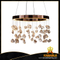 Interior classic decorative crystal stone chandelier.(2112D60)