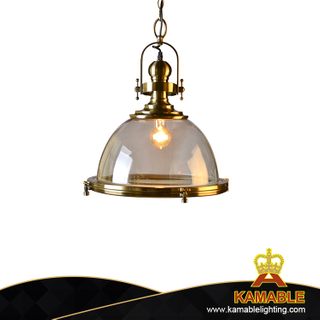 Golden metal interior decorative industrial pendant lamp(KAC710G-C)