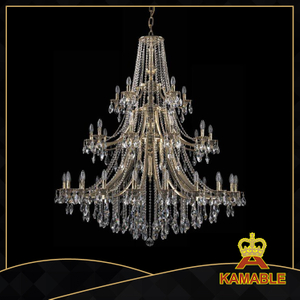 Hotel luxury crystal Ceiling chandelier (1771-20+10+5 B GB)