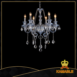 Comely style hotel lobby glass chandelier(11003-6L )