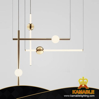 Modern Decorative LED Aluminium Pendant Hanging Lighting (KAP8232)