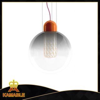 Modern glass E27 LED pendant lights (KA0202-B)