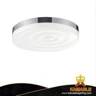 Simple iron acrylic LED ceiling light (KA2411)