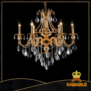 Crafted style indoor decorative cast aluminum chandelier(9121-6L )