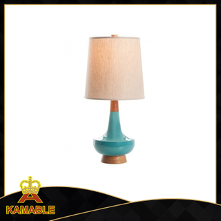Modern Ceramic Green Desk Lamps with Lampshade (KADXT-775869)
