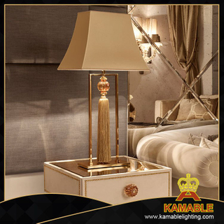 Hotel guestroom decorative crystal tassels table lamp ( KA170418)