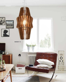 Modern indoor popular style plywood decorative pendant lighting(MD20037-1C)