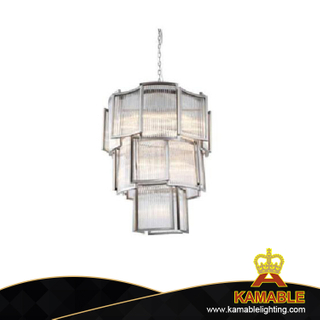 Modern Fancy Crystal Glass Material pendant lamp (KAUR3038)